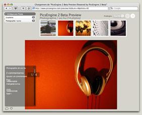 Screenshot PicsEngine